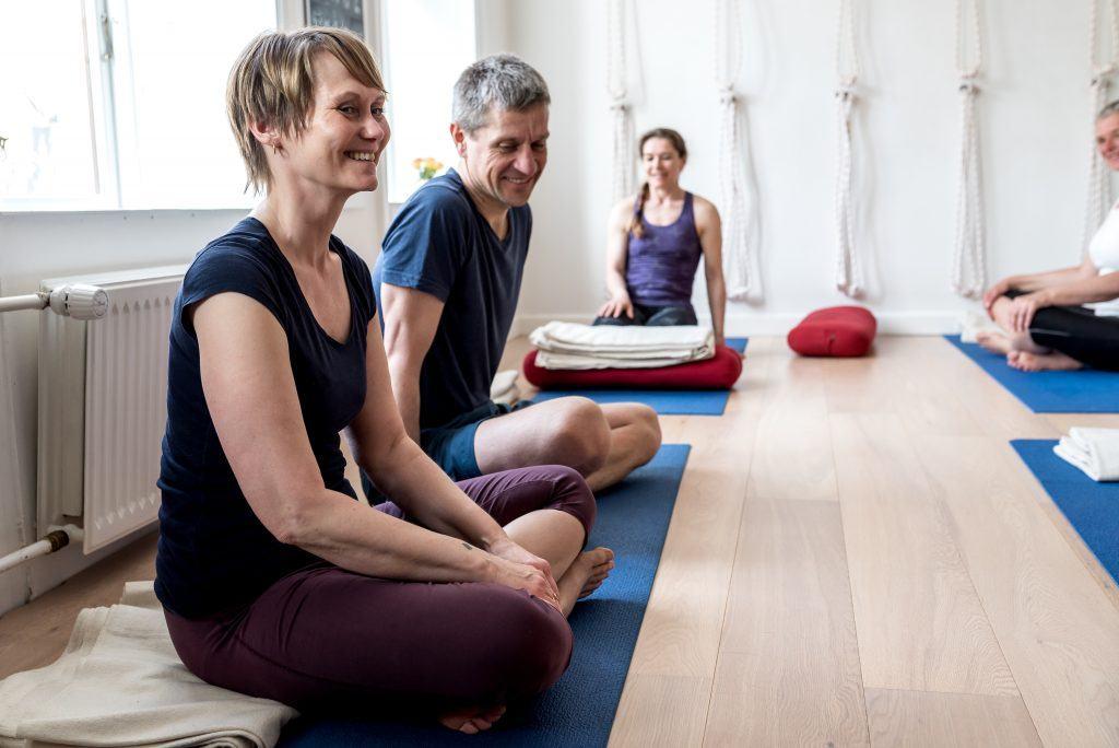 Satya yoga, nørrebro, Lone and Thomas